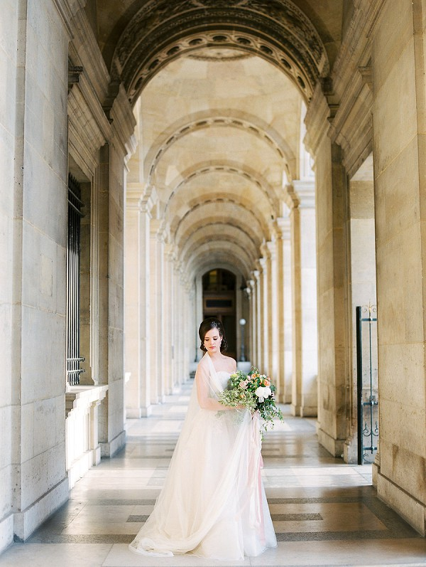 Paris wedding arch photo