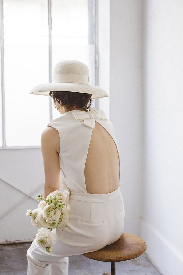 backless wedding jumpsuit