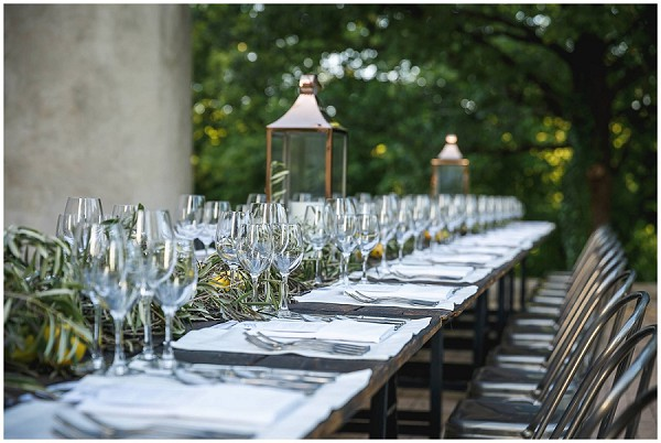 french theme tablescape