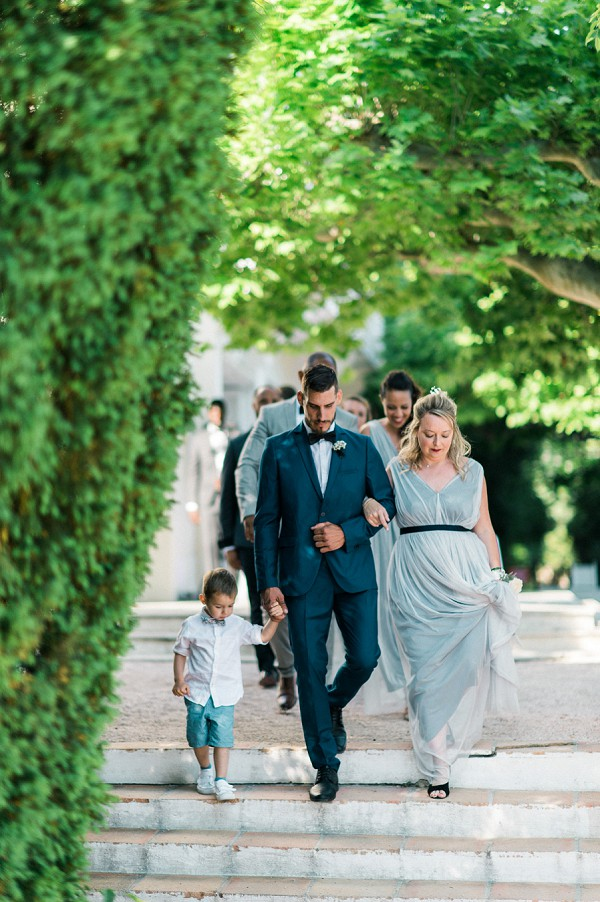 outdoor toulon wedding ceremony