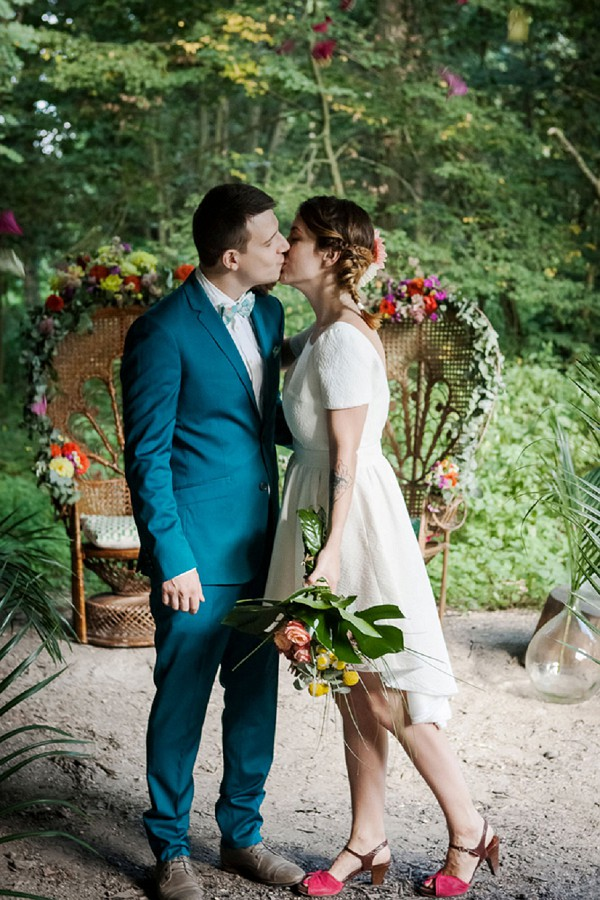 A Tropical Jungle Inspired Wedding Styled Shoot