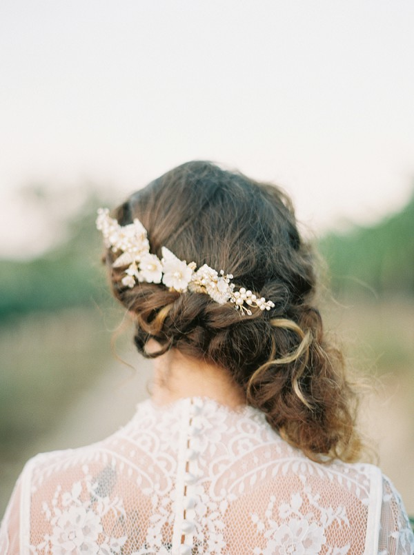 All About Romance headpiece