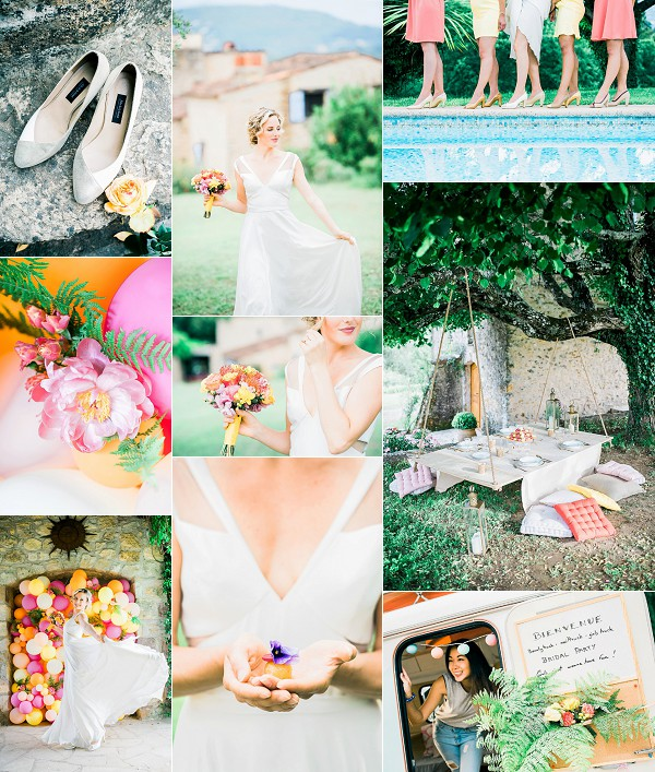 Colourful And Fun Bridal Inspiration Snapshot