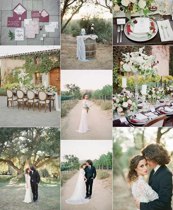 Fine Art French Inspired Wedding Shoot Snapshot