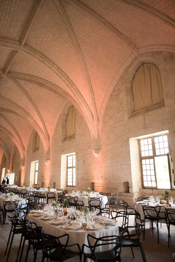 Fontevraud l'Abbaye wedding reception