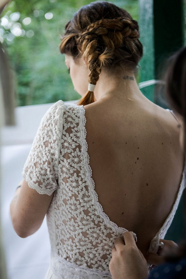 backless Under the apple tree dress