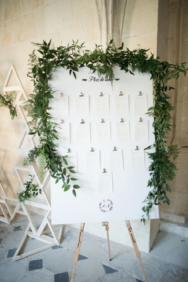 elegant table plan