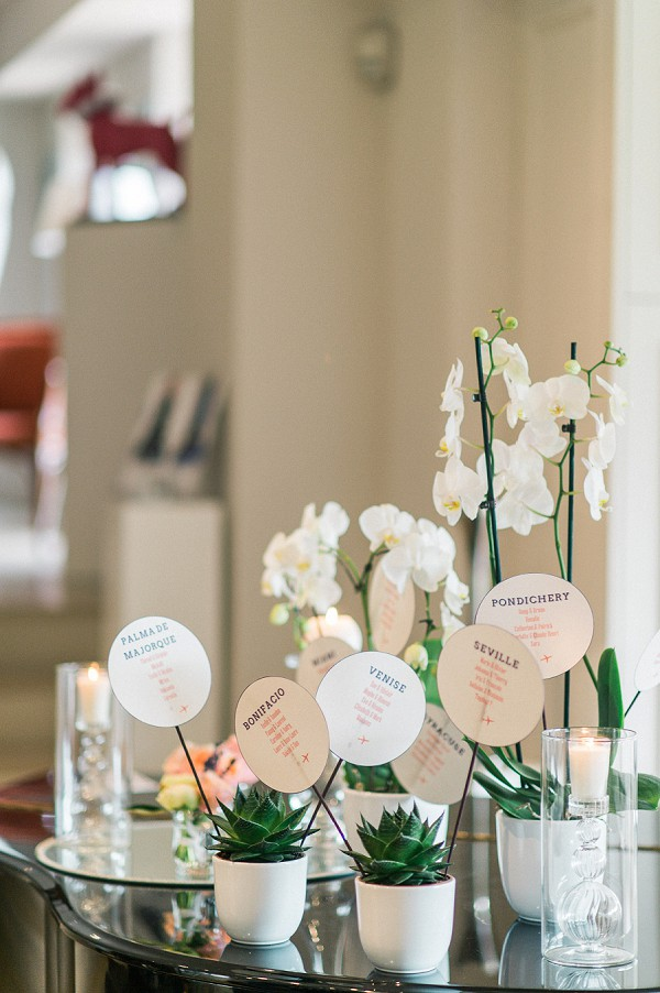 pinterest inspired table plan
