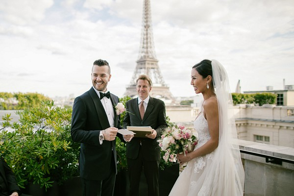 Eiffel Tower Inspired Shangri La Paris Elopement