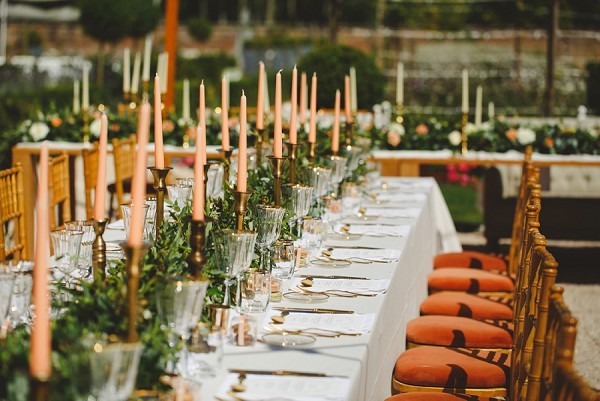 burnt orange wedding theme
