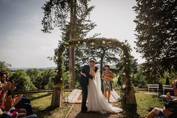 countryside outdoor ceremony