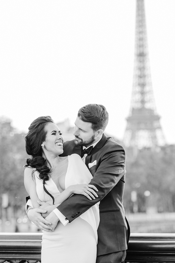 eiffel tower inspired wedding