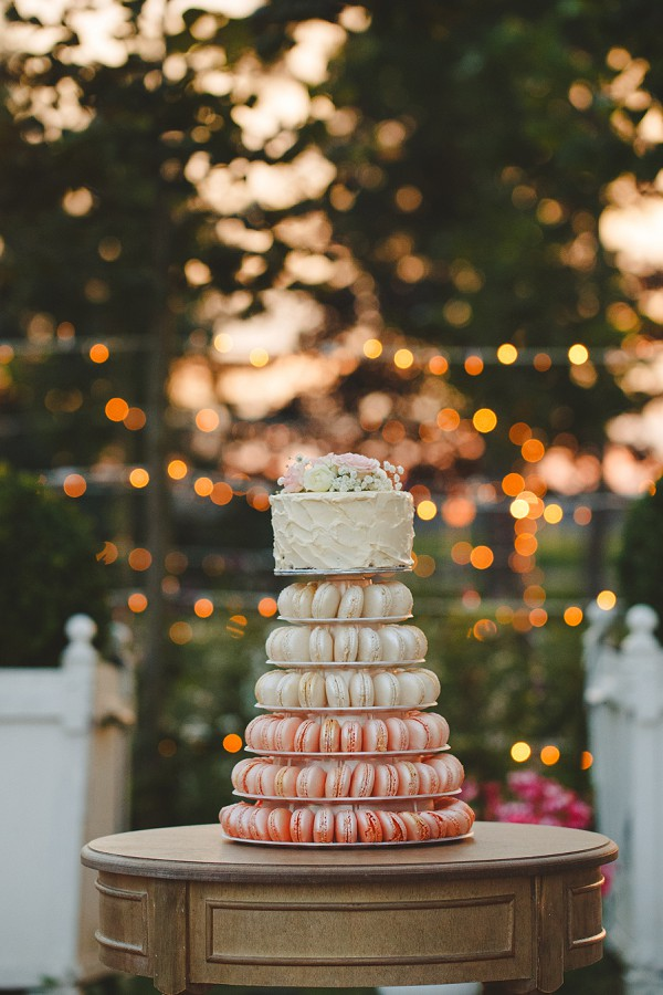 elegant french wedding cake