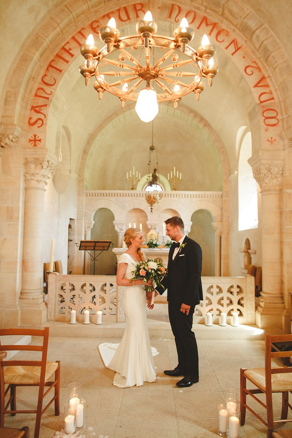 intimate chapel wedding