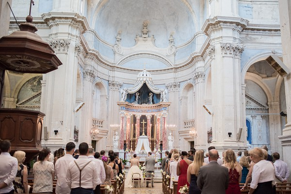 luxury church wedding
