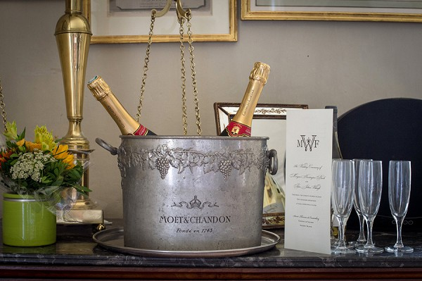 moet and chandon champagne wedding