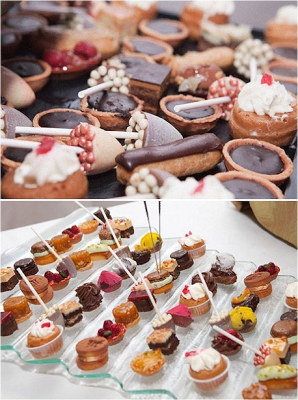 French Inspired Wedding Catering Ideas Dessert