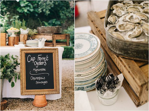 French Inspired Wedding Catering Ideas Oyster Bar