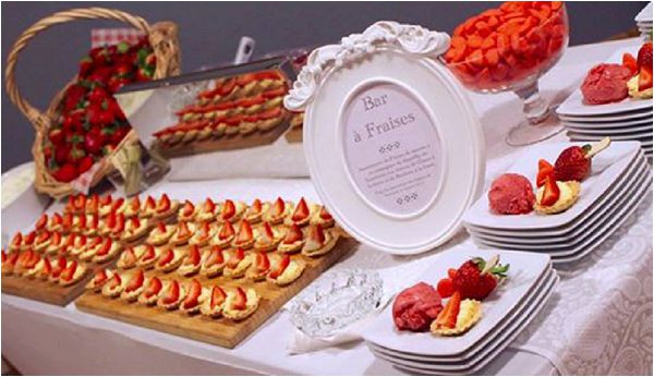 10 French Inspired Wedding Catering Ideas - French Wedding Style