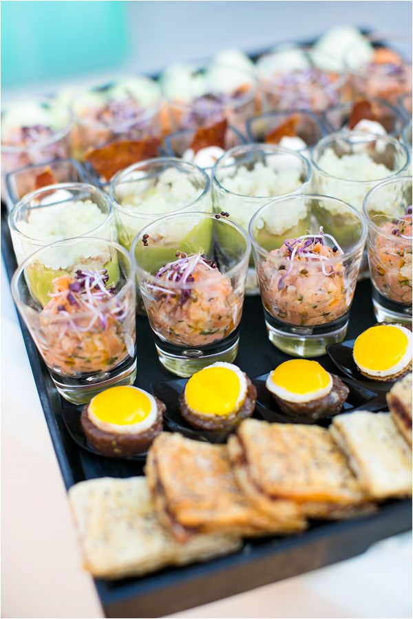 French Inspired Wedding Catering Ideas Canapes