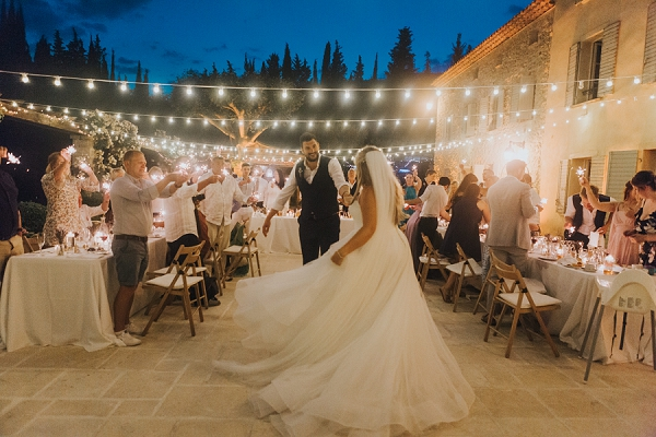 French Riviera Wedding Day