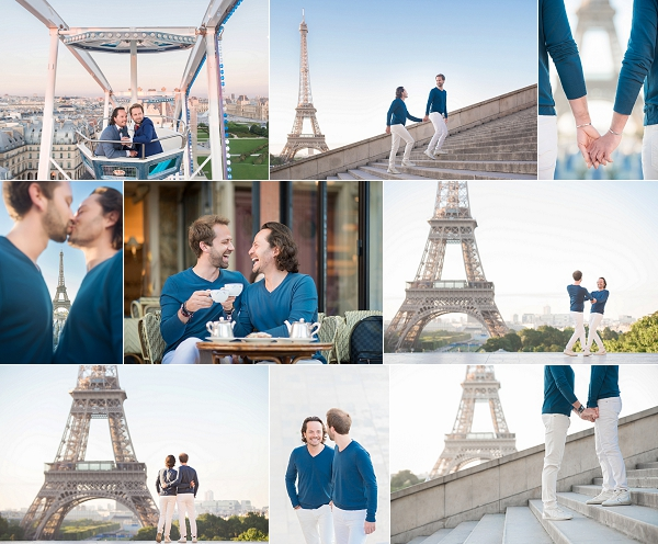 Saint James Hotel Paris Engagement Love Story Snapshot
