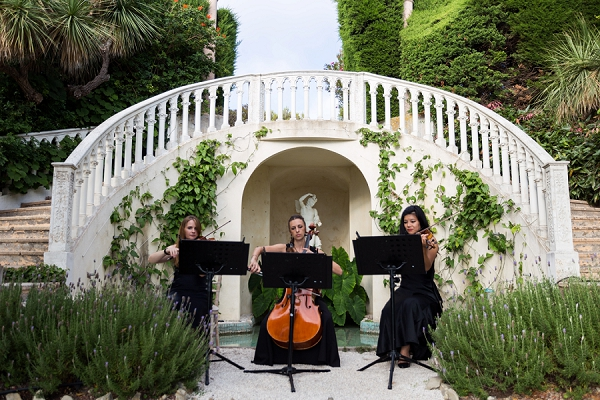 Villa Ephrussi de Rothschild wedding ceremony