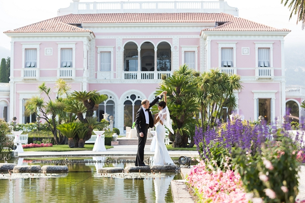 Villa Ephrussi de Rothschild wedding day