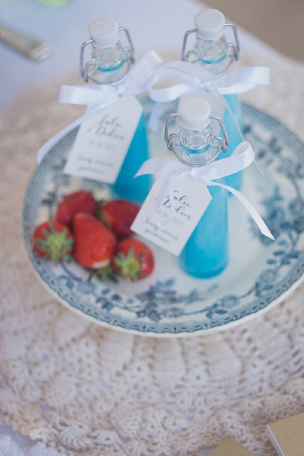 drink wedding favor