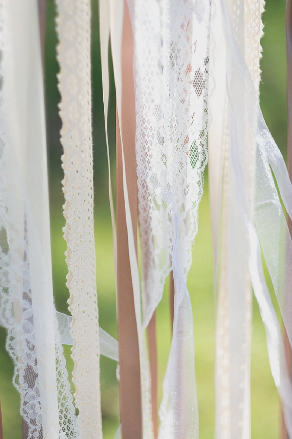 ribbon wedding details