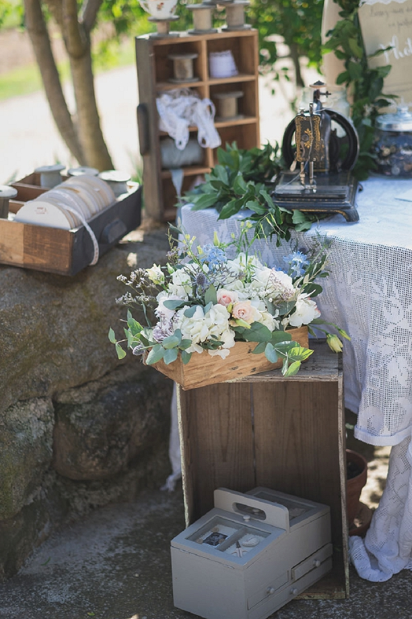 vintage look wedding