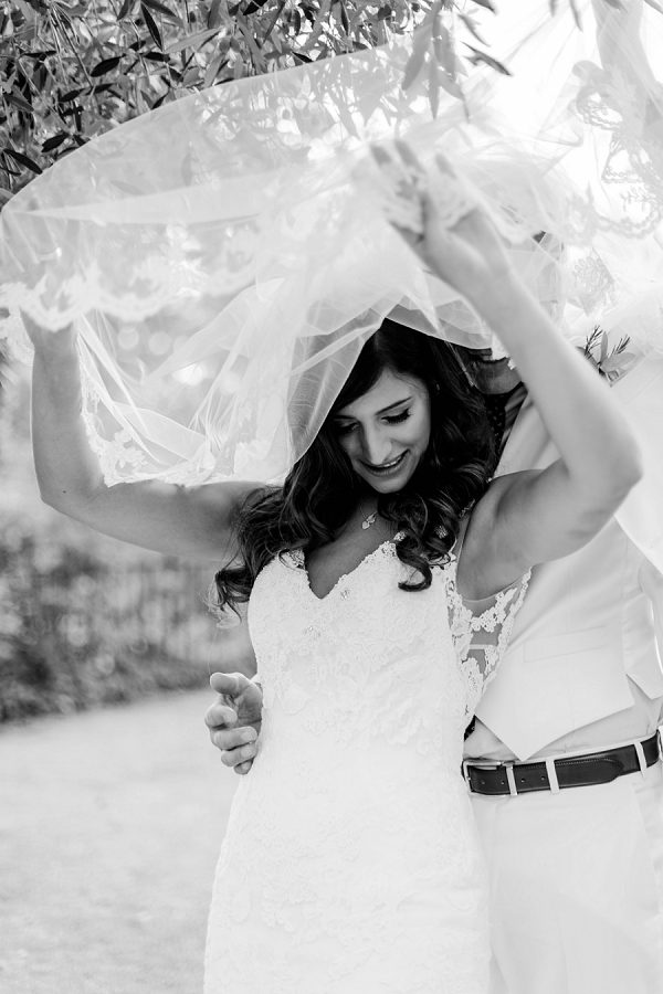 wedding veil photo idea