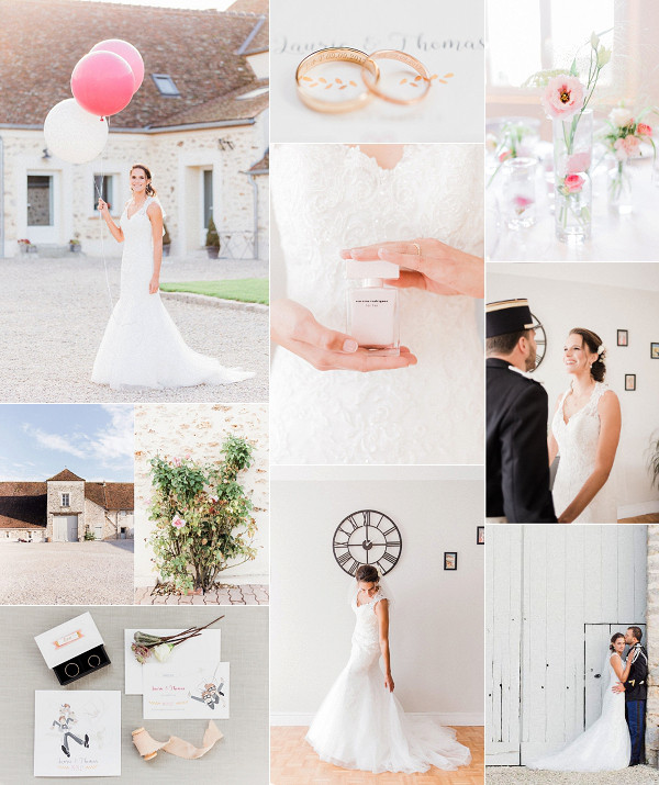 Military Inspired French Countryside Wedding Snapshot