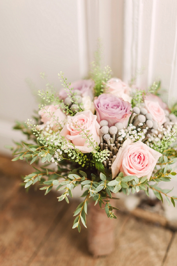 Pastel Coloured bridal bouquet