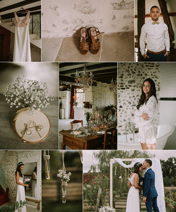 Romantic Nature Inspired Elopement Snapshot