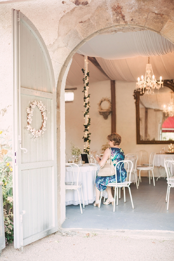 chateau wedding decor