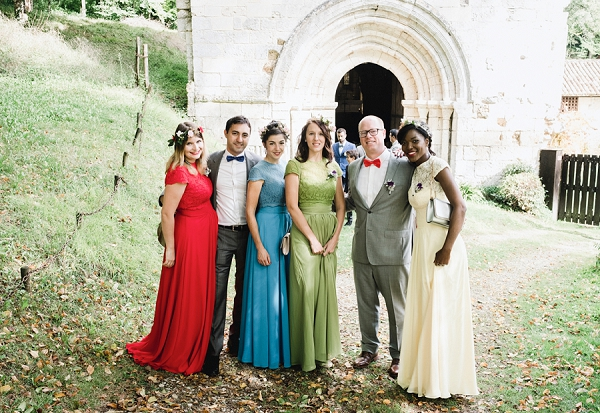 colourful Medieval wedding