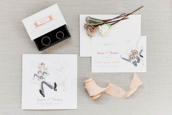 cute wedding stationery