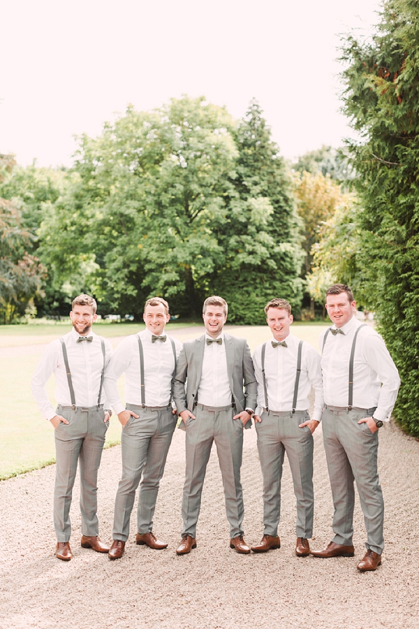 vintage inspired groomsmen outfits