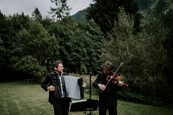 Chamonix wedding music
