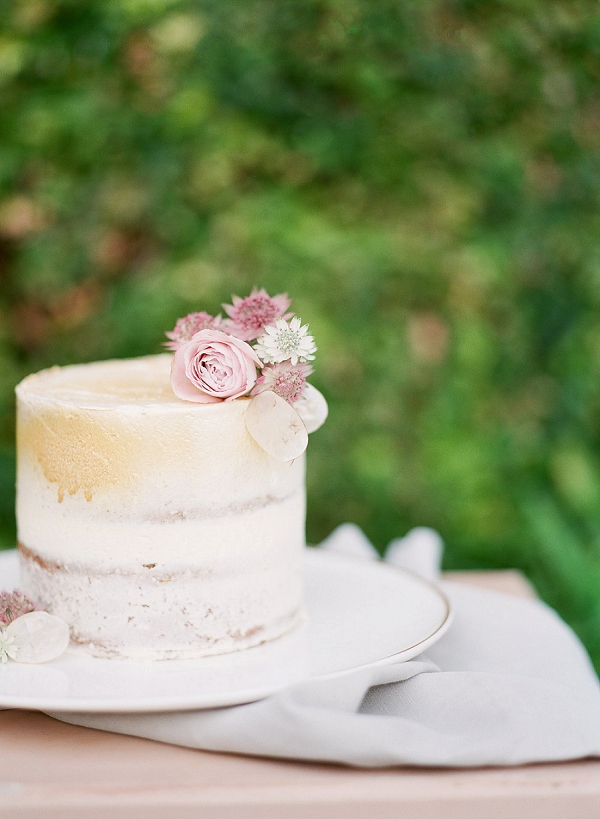Citron Pavot wedding cake