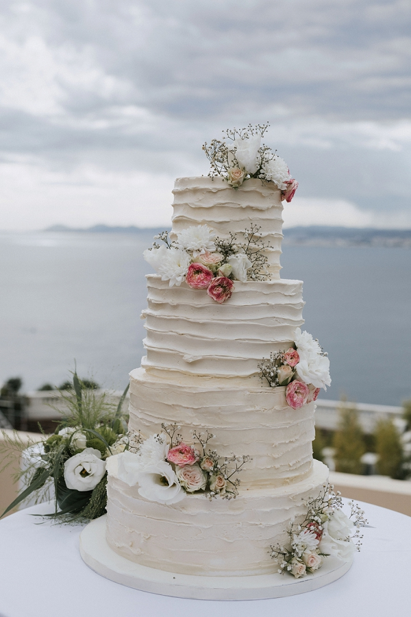 Four Tier Wedding Cake
