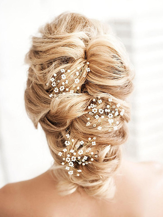 Gypsophila Hair Comb
