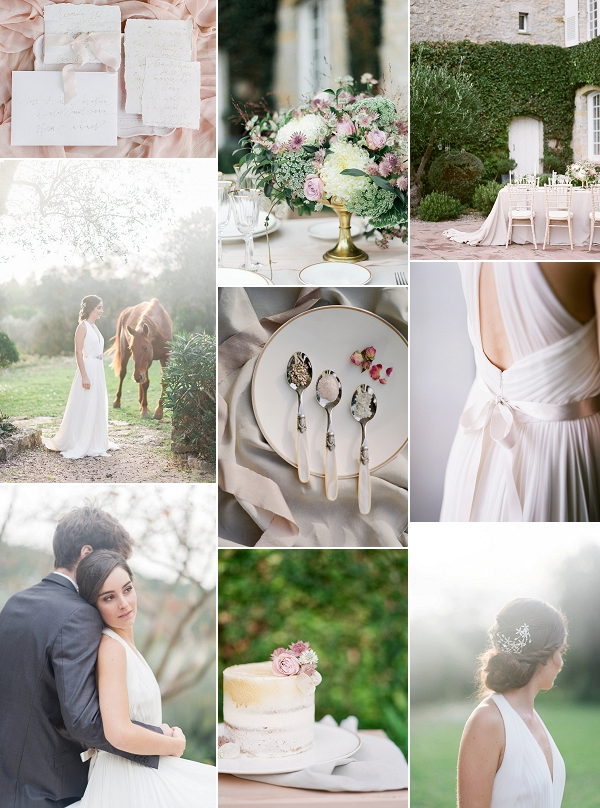 Le Manoir de L'Etang Wedding Inspiration Snapshot