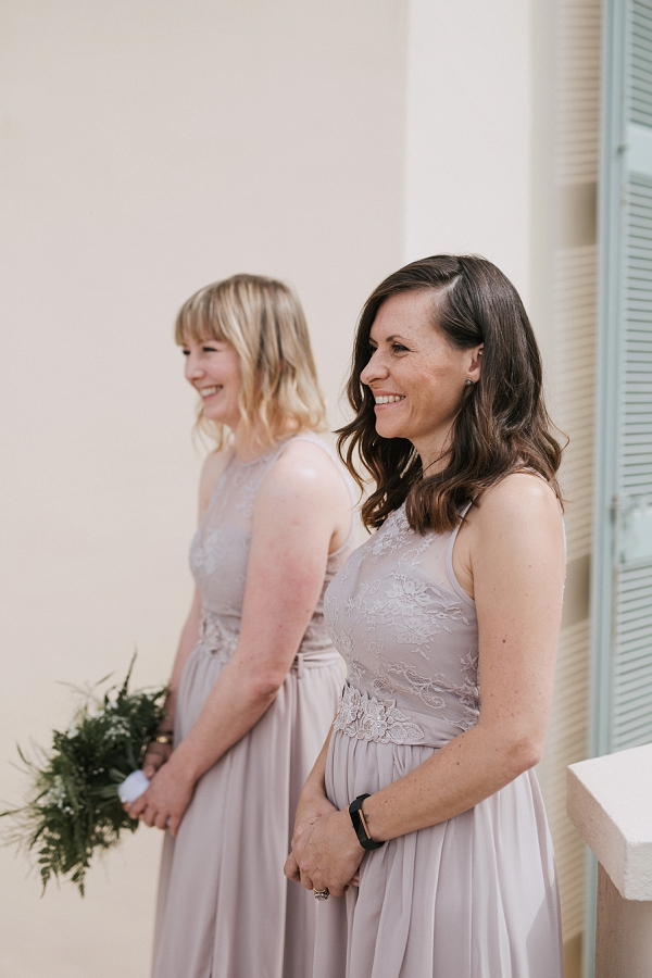 Mauve Lace Bridesmaid Dresses