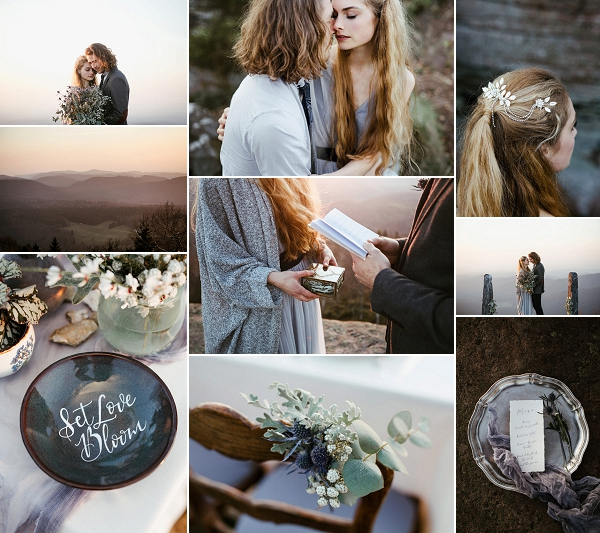 Mont Donon Winter Inspired Wedding Snapshot