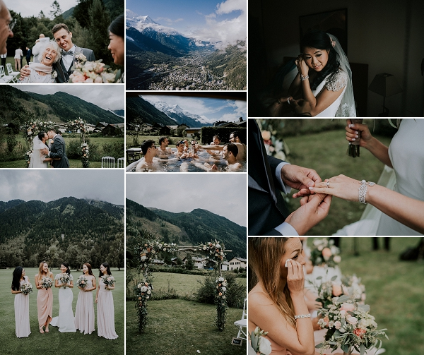Mountain Top Chamonix Real Wedding Snapshot