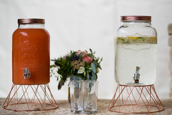 Rustic Wedding Drink Ideas