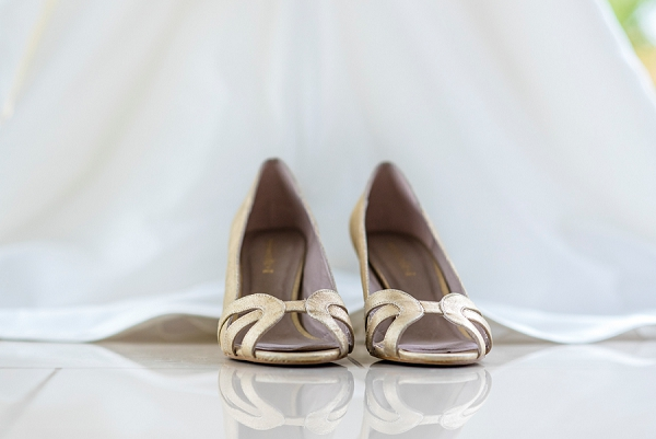 Simple Wedding Shoes