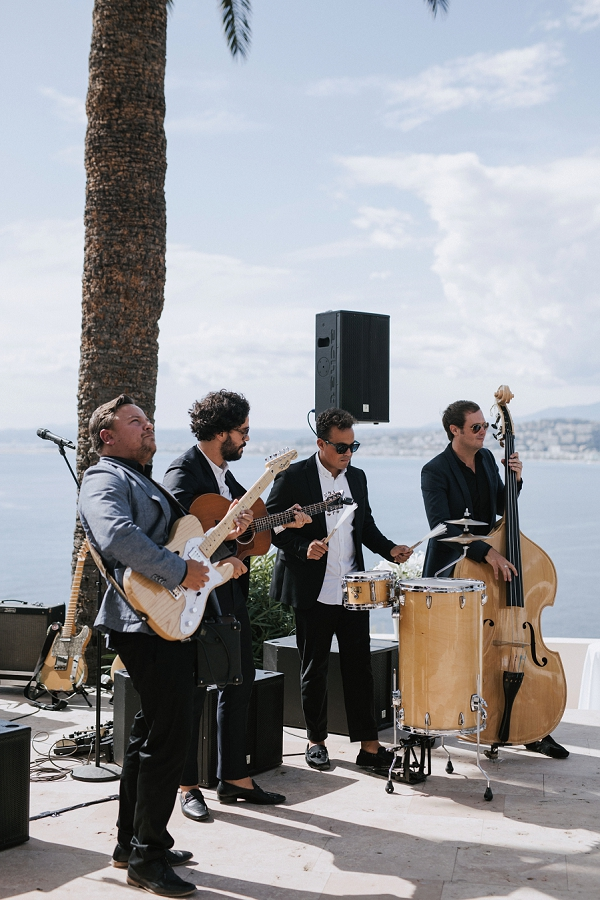 The Troubadours French Riviera Wedding